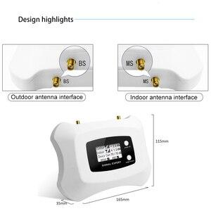 Image 3 - Repetidor de señal de teléfono móvil 850 mhz 3G UMTS, pantalla inteligente, LCD, 850 Mhz, ganancia de 70dB, Amplificador de señal móvil