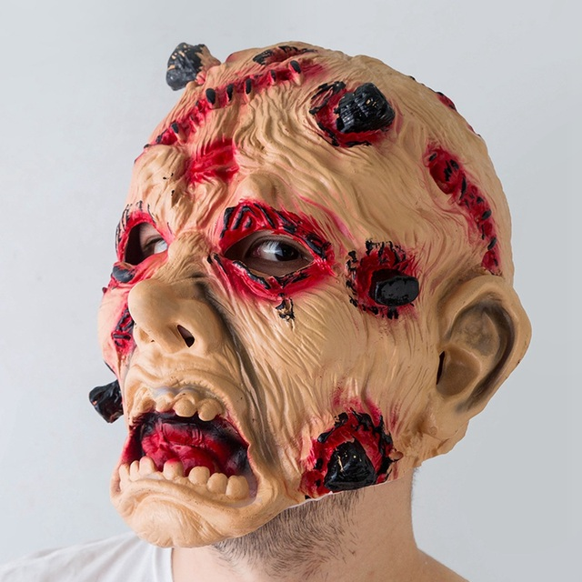 13 Types Masquerade Halloween Horror Mask Adult's Cosplay Realistic Latex Creepy Party Scary Mask Halloween Costume Mascarillas 5