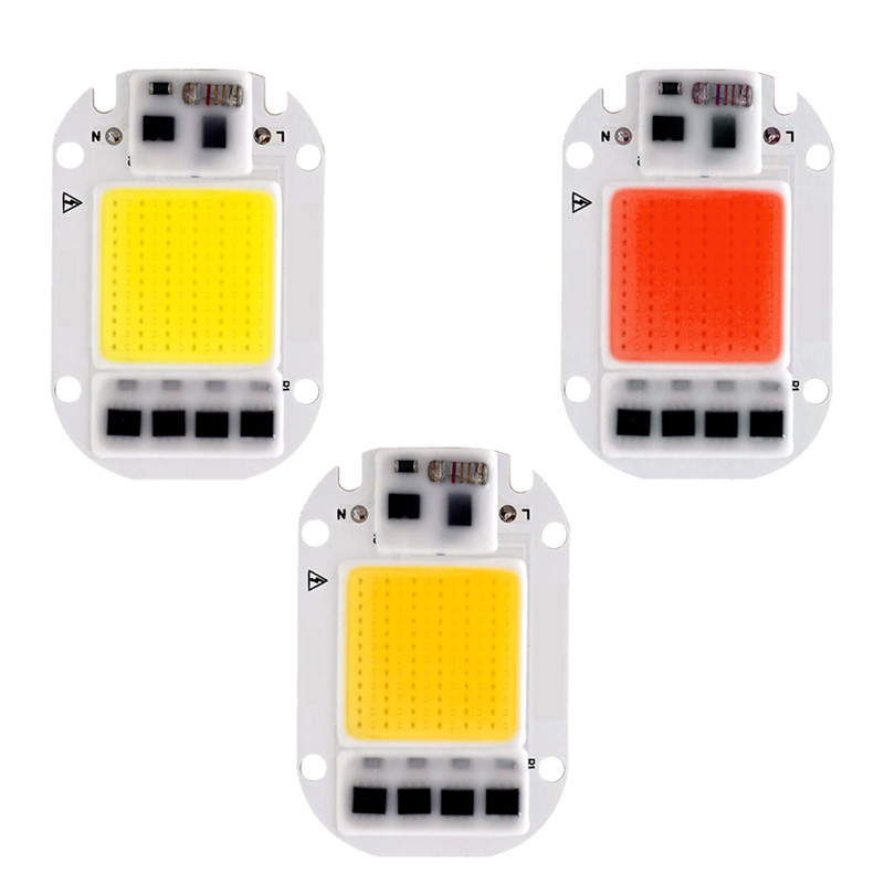 LED Grow Light Lamp Chip Full Spectrum Grow Led Chip AC 110V 220V 20W 30W 50W For Indoor Plant And Flower Seedling Growth Lights