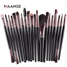 Makeup-Brush-Set Eyeshadow Blush Blending-Foundation-Powder Eyebrow Double-Head-Brush