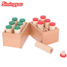 Simingyou Montessori Sensorischen Auditive Material Sound Boxen Kinder Pädagogisches Spielzeug D10-Q-54 Dropshipping(China)