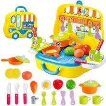 Новые продукты фрукты овощи ролевые игры дом игрушки посуда кухонные игрушки Детские Портативные головоломки игра мальчик игрушка-подарок для девочки