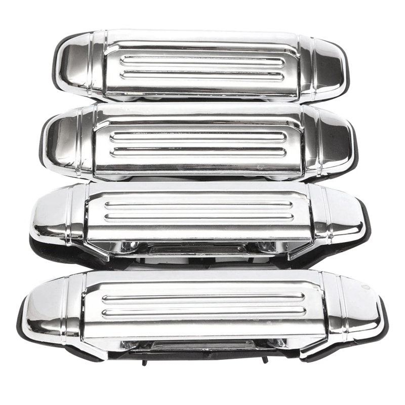 Car Chrome <font><b>Door</b></font> <font><b>Handle</b></font> Accessories for <font><b>Mitsubishi</b></font> Pajero 1992 1993 1994 1995 1996 1997 image