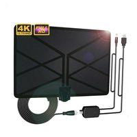 טלוויזיה אנטנה 960 מיילס טלוויזיה אנטנה פנימית 1080p טלוויזיה 4K אנטנה Amplified דיגיטלי HDTV (1)