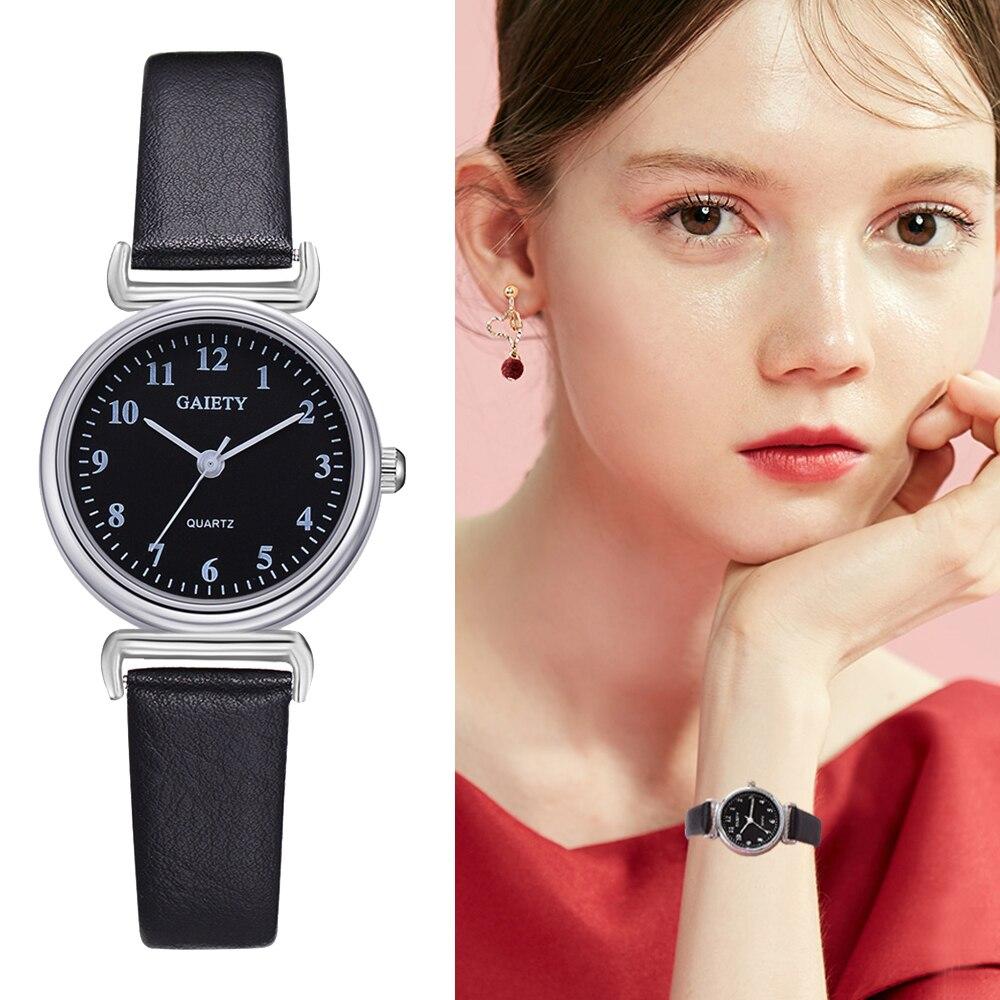 Women Watch Leather Women Watches Top Brand Luxury Casual Clock Ladies Wrist Watch relogio feminino zegarek damski