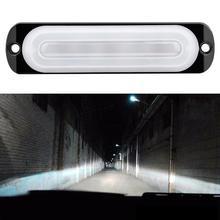 цена на 6 Led Light Bar Work Light 4WD led bar Warning Light Car Truck SUV Floods Spot Offroad Driving Fog Lamp 12V super bright 6000K