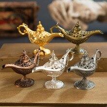 Lámpara Aladino de aromaterapia creativa para el hogar, colección de regalos, decoración para el hogar, aleación de Zinc, decoración para el hogar