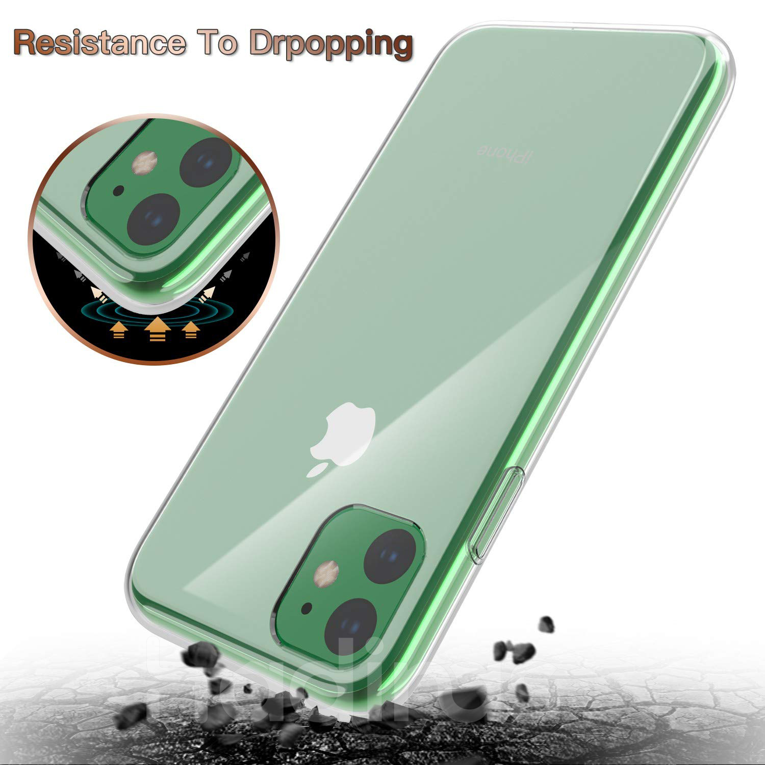 Hadinas Silicone Case for iPhone 11/11 Pro/11 Pro Max 18