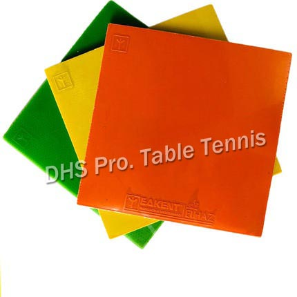 Eakent Pure Color Table Tennis Rubber With Sponge No ITTF Non-tacky