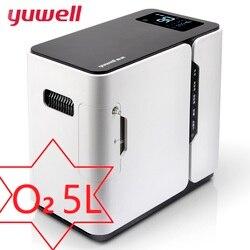 Yuwell Casa Generatore di Ossigeno Salute E Bellezza Concentratore di Ossigeno Ossigenazione Che Fa La Macchina di Acqua Purificatore D'aria Ozonizers YU300 5L