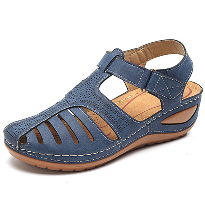 New Women Sandals Summer Shoes Woman Plus Size 44 Heels Sandals For Wedges Chaussure Femme Casual Gladiator Sandalen Dames