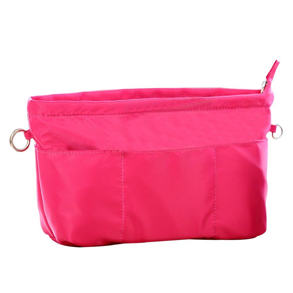 Home Liner Pocket Flexible Waterproof Travel Easy Clean Nylon Large Capacity Practical Makeup Bag Bathroom Zipper Closure