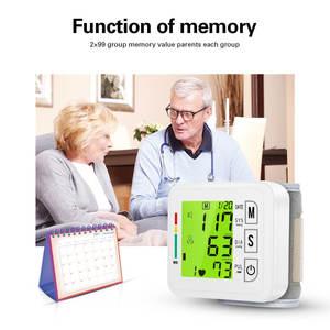 Image 5 - OLIECO Handgelenk Blutdruck Monitor USB Aufladbare Digitalen Blutdruckmessgerät Englisch Stimme 3 Hintergrundbeleuchtung Erinnern 2 Benutzer Speicher