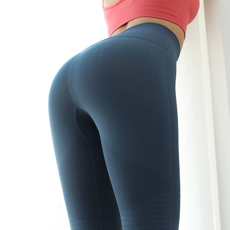 New Style High-waisted Quick-Dry Yoga Pants Peach Hip Running Fitness Pants Sports Leggings Belly Holding Online Celebrity Yoga