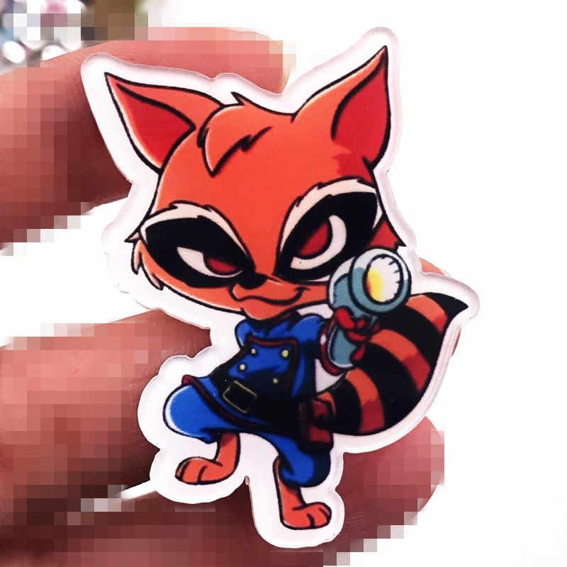 1 Pcs Baru Captain Marvel Hero Aksesoris Lencana Avengers Acrylic Bros Pin untuk Dekorasi Pakaian Ransel Syal Hat