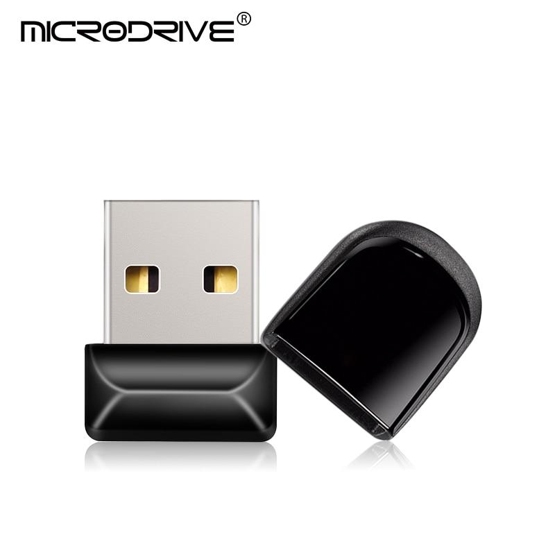 Usb 2.0 8gb 16gb 32gb super mini preto flash drive 64gb 128gb vara pen drive usb vara disco pequeno u melhor presente