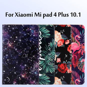 Fashion Painted Flip Case For XiaoMi Mi pad 4 Plus case 10.1 inch Tablet Cover Xiaomi Mipad / pad4