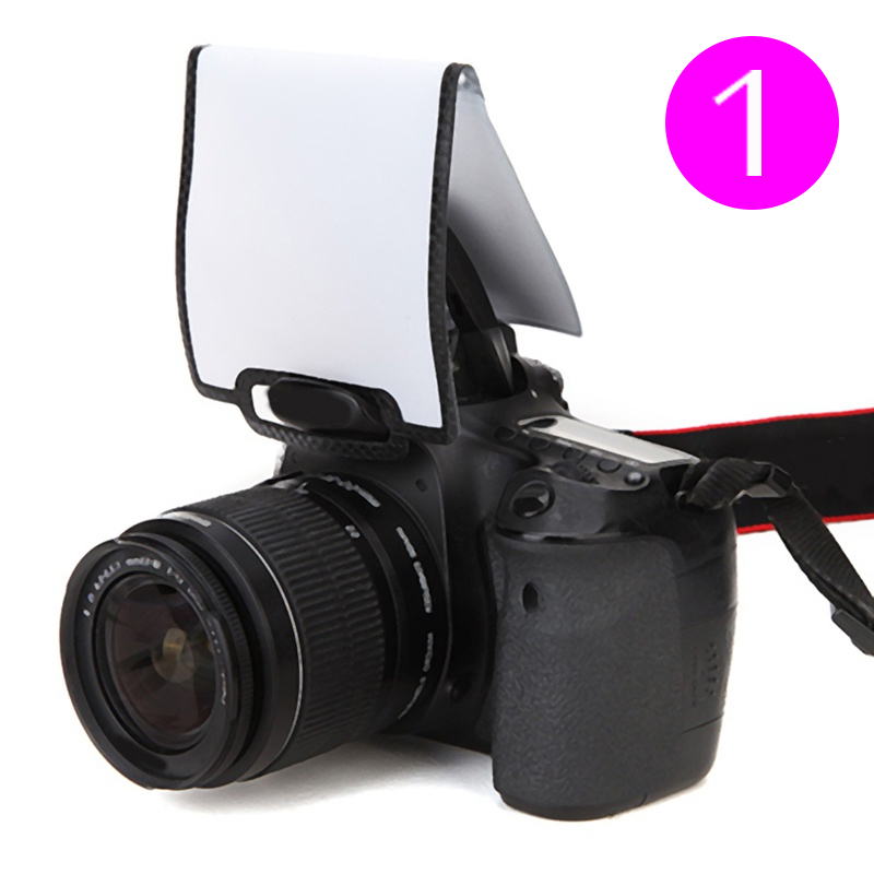 DOITOP Camera Screen Flash Diffuser Universal Soft Screen Pop-Up Softboxes General SLR Camera Flash Diffuser For Nikon Canon