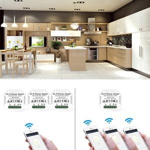 Image 5 - Lonsonho inteligente wi fi interruptor dimmer relé tuya módulo de automação residencial inteligente controle remoto compatível alexa google casa mini