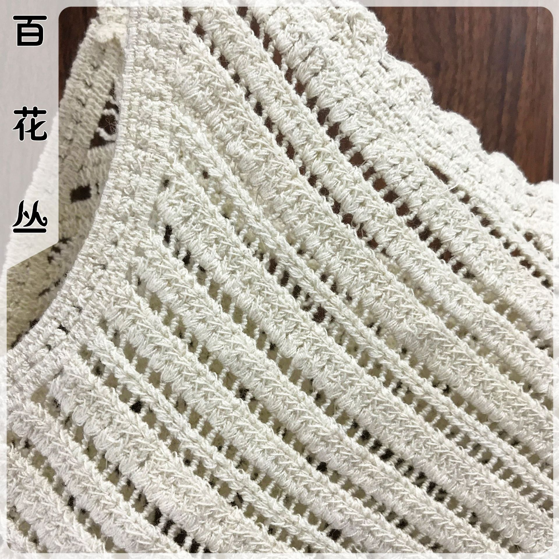 Flowers Plexus Spring And Summer New Style Cotton Thread Hollow Out Crochet Crochet Embroidery Flower Versatile Short Small Cami