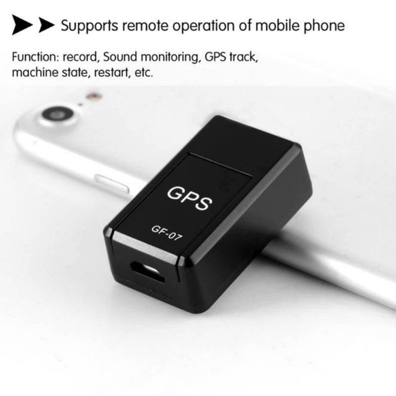 Mini Portable GPS Tracker Locator Anti-lost Recording Tracking Device Car Safety
