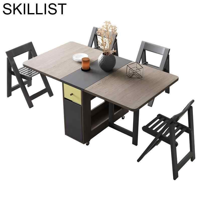 Tafel Esstisch De Jantar Tavolo Dinning Set Oro Comedor Tisch Tablo Kitchen  Plegable Mesa Desk Folding Dining Room Table