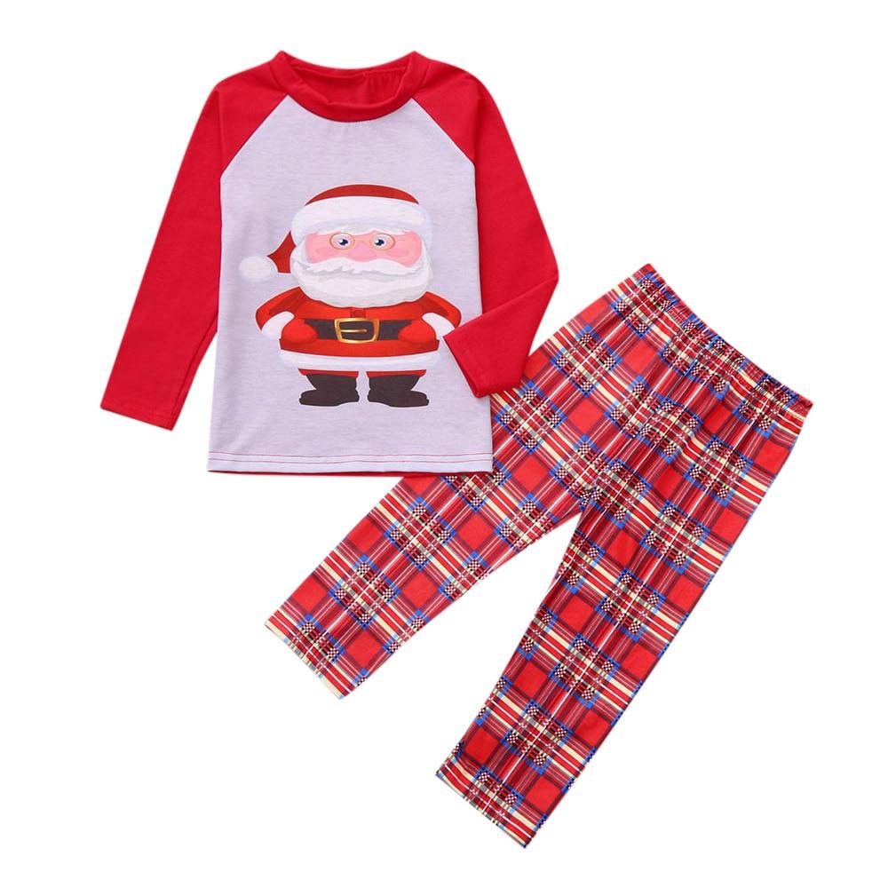 Семейный Рождественский пижамный комплект; Семейные комплекты; коллекция года; Рождественская праздничная одежда; пижамный комплект для взрослых и детей; хлопковый Детский комбинезон; одежда для сна