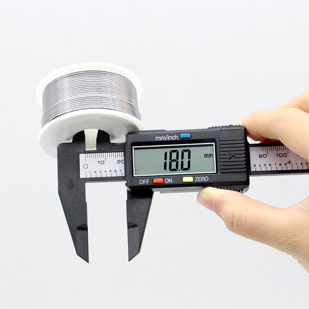 Lcd digital eletrônico vernier caliper calibre micrômetro digital caliper ferramenta de medição portátil dispositivo de medição plástico 150 mm