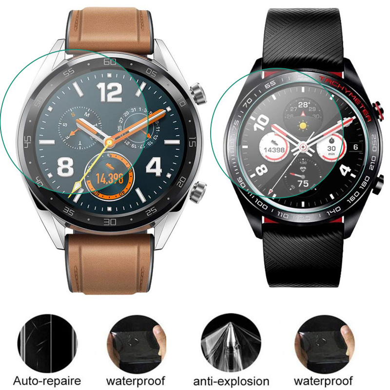 Soft TPU (Not Glass) Protective Film For Huawei Honor Watch GT/Magic 2 Screen Protector Cover GT2 Magic2 Smartwatch Protection