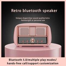 Caixa de som inteligente portátil cartão chifre alto falantes música ao ar livre receptor estéreo rádio baixo alto-falante sem fio bluetooth google