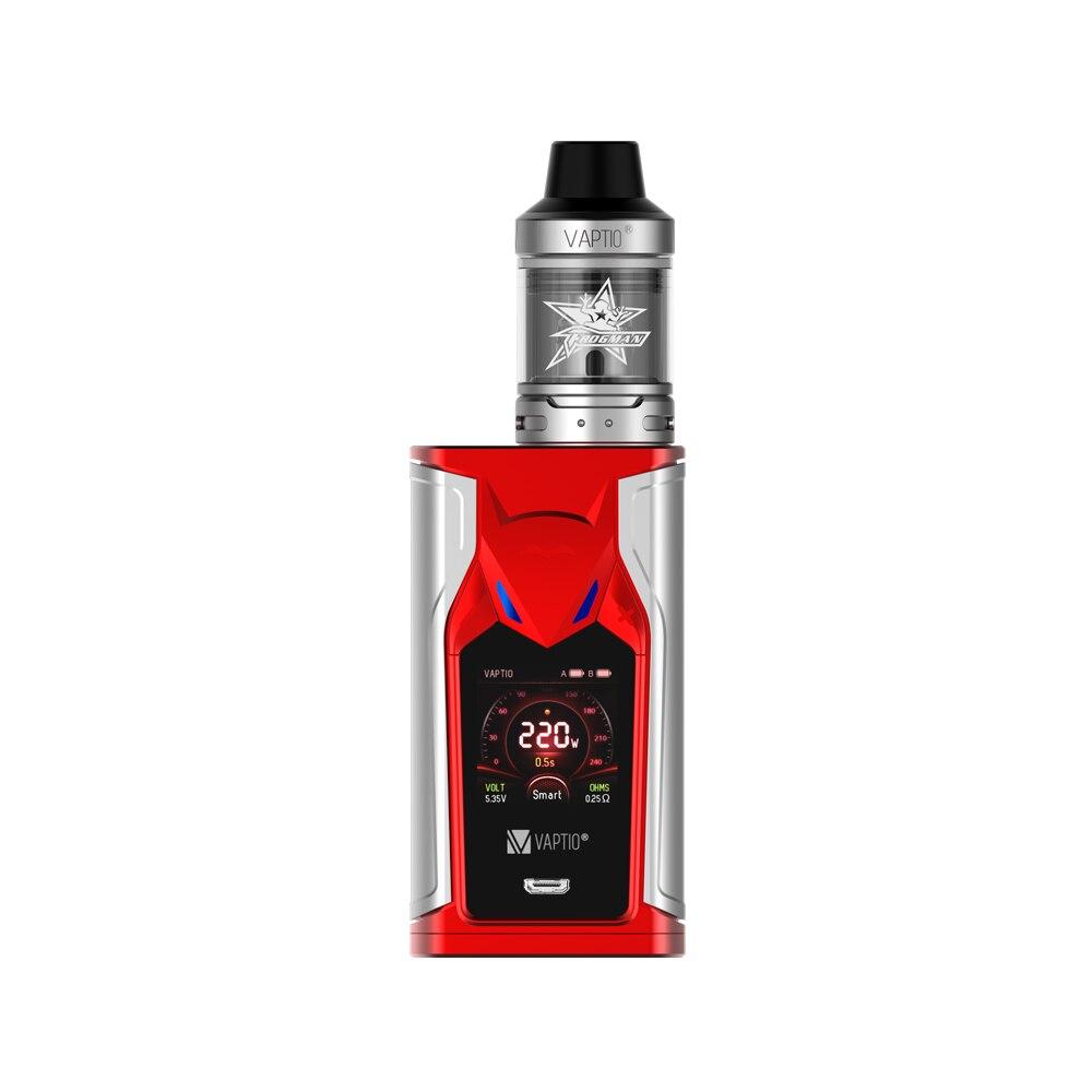 【Extra Gift 5PCS Coil】APTIO SUPER BAT 220W Vape Kit E-cigarettes 220W  MOD 2.0/5.0ml Tank 510 Thread