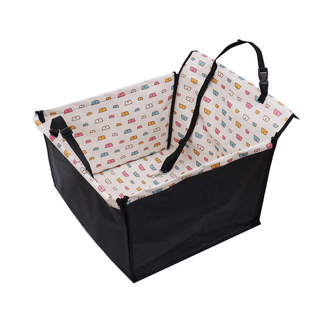 Pet Dog Car Carrier Seat Bag Folding Hammock Safety Waterproof Basket For Cats Dogs Outdoor Travel Pets Dog Seat Hanging Bags 2