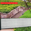 0 9x5m Home Decor Anti-aging Sunshade Net Summer With Grommets Balcony Privacy Garden Fence Greenhouse Backyard Pool Safety discount