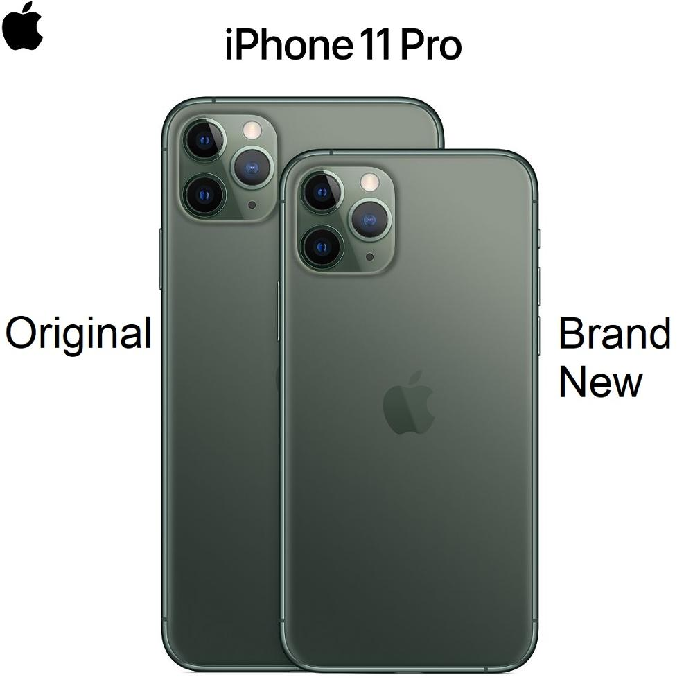 "Original New IPhone 11 Pro/Pro Max Triple Rear Camera 5.8/6.5"" Super AMOLED Display A13 Chipset IOS 13 Smart Phone MI BlueTooth"