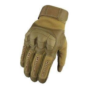 Уличные спортивные тактические перчатки для альпинизма, кемпинга, велосипедные перчатки, мужские полные перчатки, военные защитные перчатки