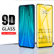 Fizazi 9D Full Glue Cover Tempered Glass For Xiaomi Redmi Note 8 Pro Screen Protector Glass For Redmi Note 8 Protective Glass tempered glass for xiaomi redmi note 3 pro se official global 152 special edition international version screen protective cover