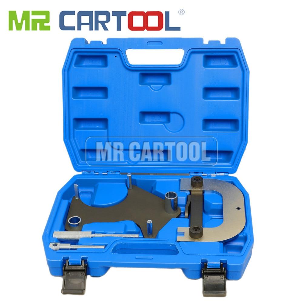MR CARTOOL Car Engine Timing Locking Setting Tool Set For Renault 1.4 1.6V Clio Meganne Laguna AU004 Camshaft Alignment Tool Kit