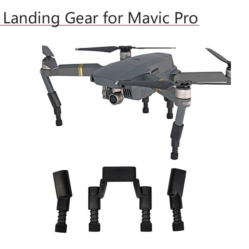 Train d'atterrissage pour DJI Mavic Pro Platinum protecteur de caméra garde renforcée antichoc jambe ressort souple étendre les accessoires de pieds