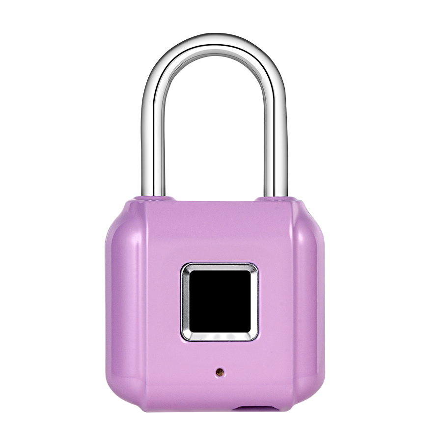Golden Security Mini Keyless USB Charging Fingerprint Smart Padlock For  Door Footprint Padlock Locker Box Cabinet Drawer Lock