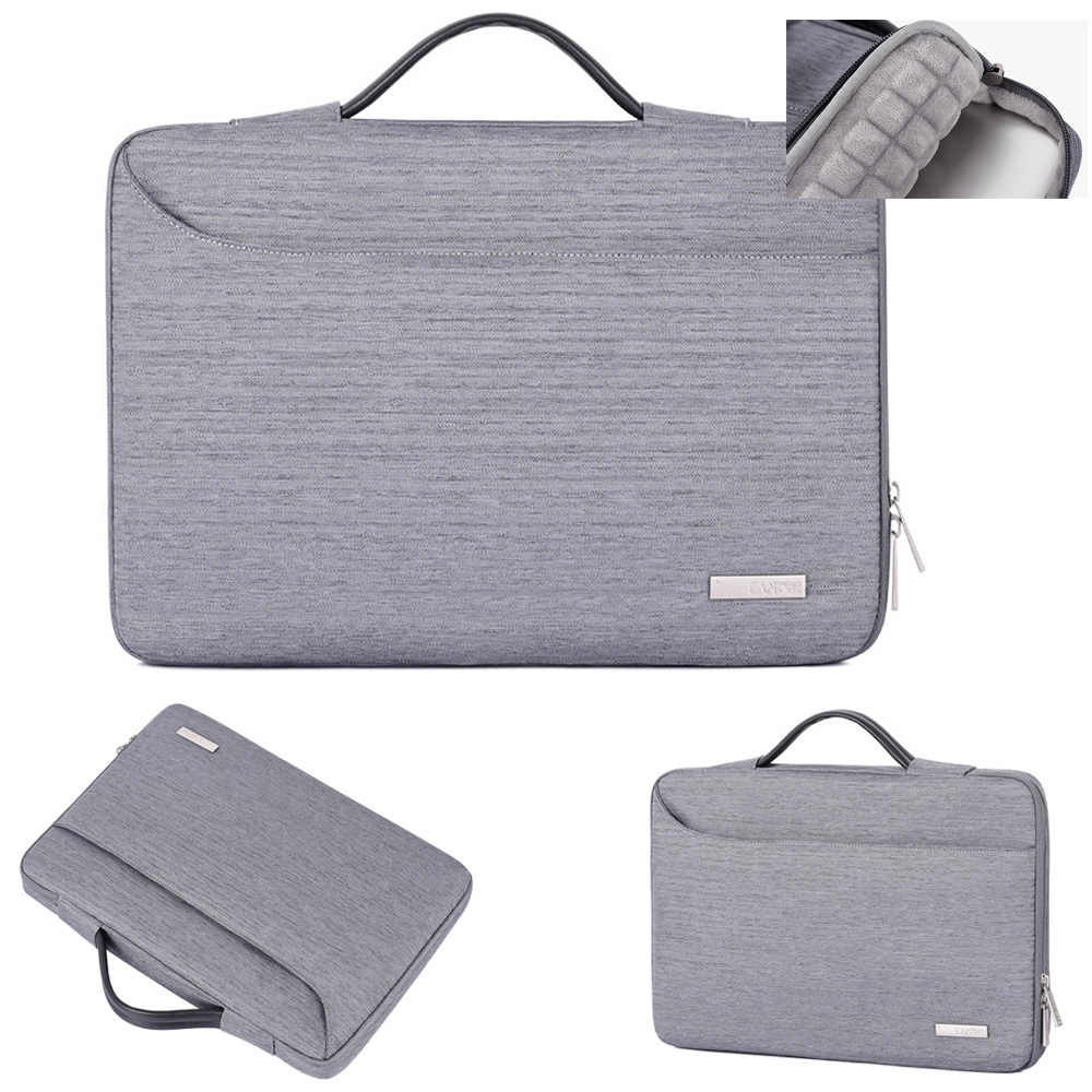 """16/"""" Inch Black Laptop Notebook carrying briefcase bag case for HP Lenvoe Dell"""