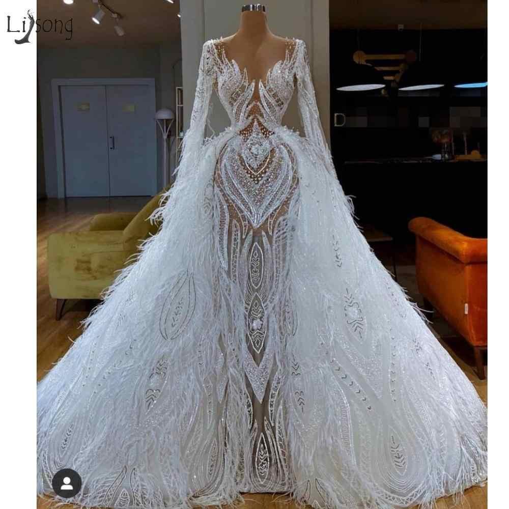 15 Best Feather Wedding Dresses Images Wedding Dresses Wedding