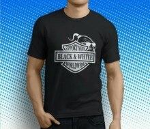 Suporte preto amp branco em todo o mundo mongóis mc t masculino preto camiseta tamanho S-3XL