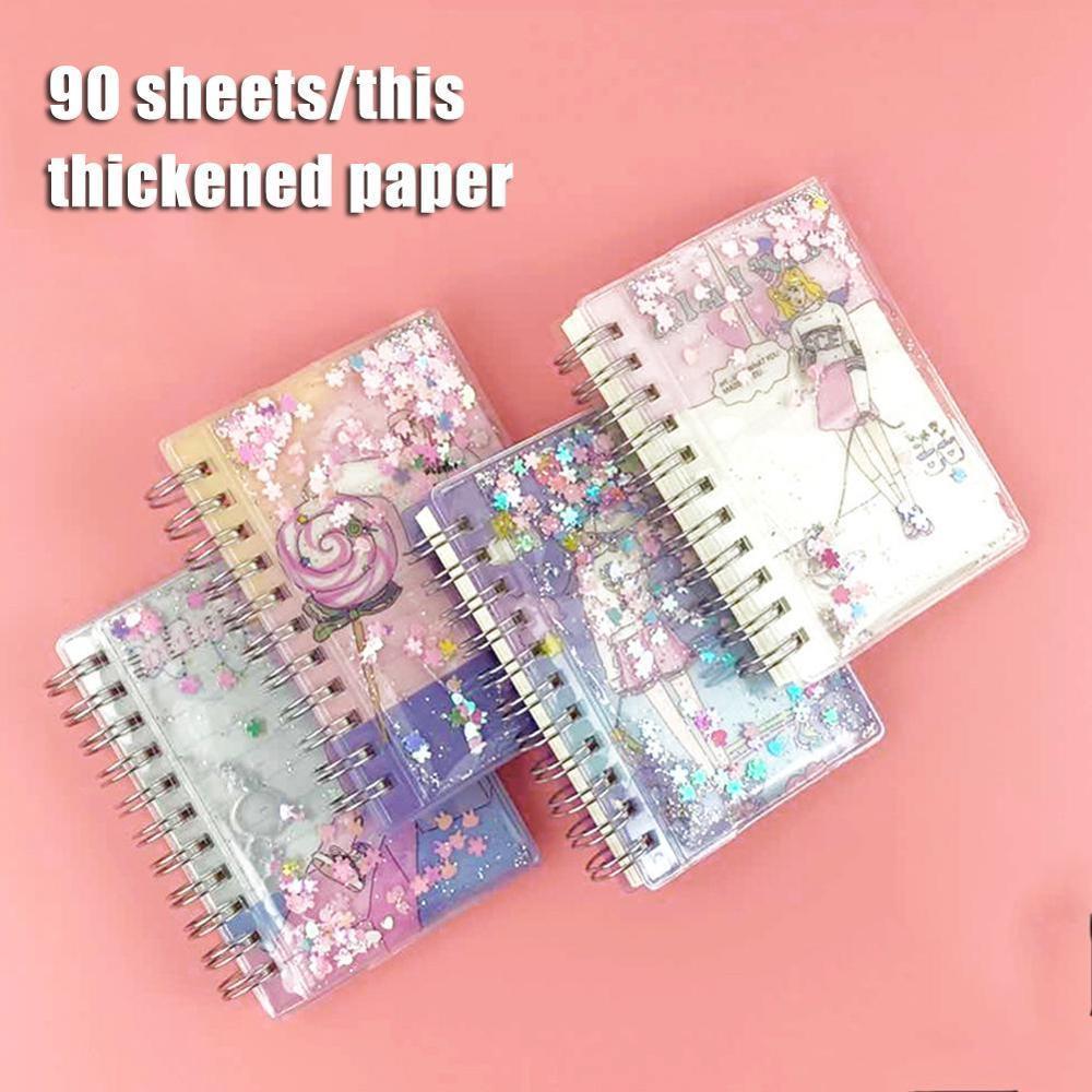 Креативный цветной блокнот свободного листа Kawaii блокнот указатель Страницы Дневник на спирали планировщик бумаги мини блокнот японский Канцтовары| |   | АлиЭкспресс