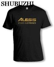 Alesis Logo T-Shirt | Studio Elektronik | DJ | verschiedene Farben mann t shirt luxus marke tops baumwolle tees