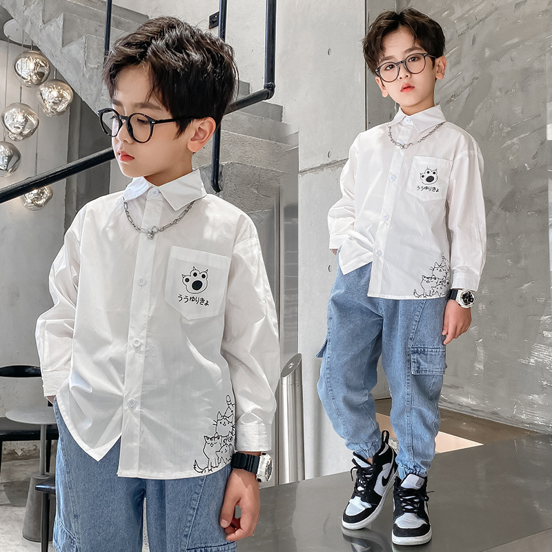 Boys Elegant Cotton Shirts