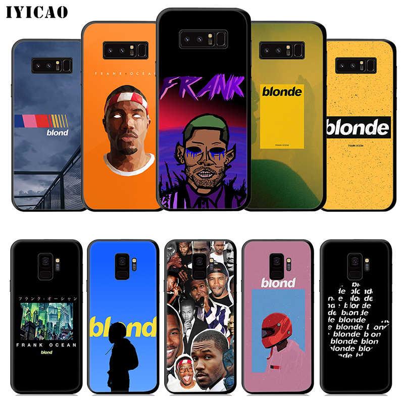 IYICAO Frank Ocean blond doux étui pour samsung Galaxy S10e S10 S9 S8 Plus S6 S7 bord Note 10 Plus 9 8 TPU