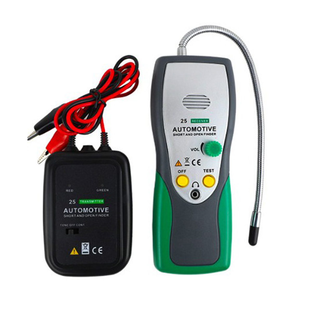 DY25 Automotive Short amp Open Circuit Finder Tester Cable Tracker Repair Tool Tester Car Tracer Diagnose Tone Line Finder  Wires