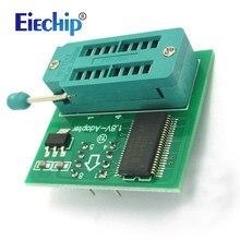 1.8v adaptador para iphone ou placa-mãe 1.8v spi flash sop8 dip8 w25 mx25 uso no programador tl866cs tl866a ezp2010 ezp2013 ch341
