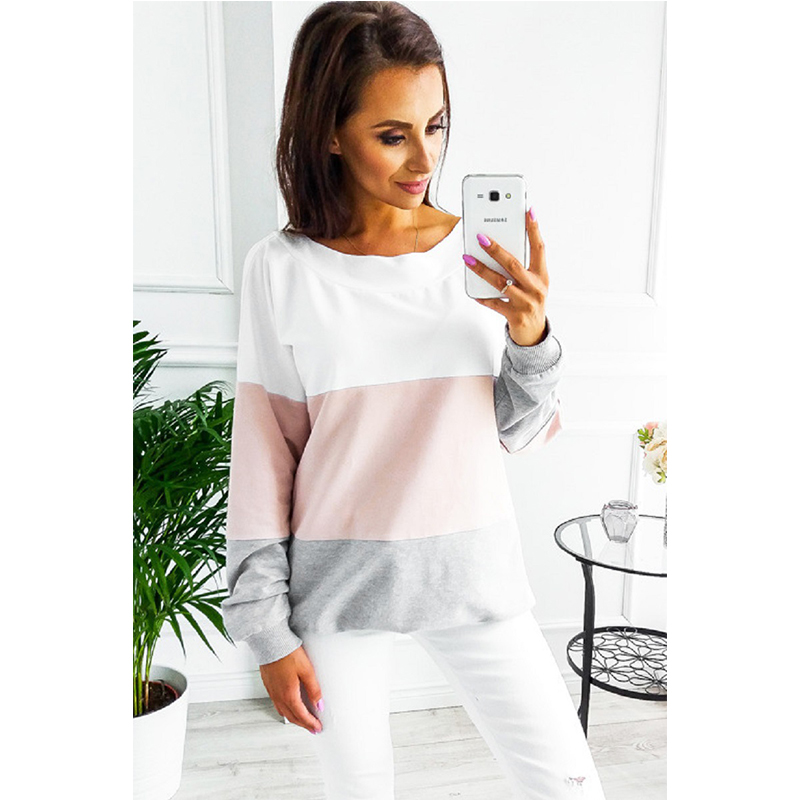 Fashion Open Back Sweatshirt Top Womens Tops Sexy Woman Backless Sweatshirt Jacket With Long Sleeve O-neck Casual Top