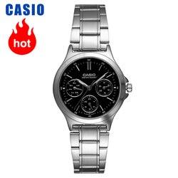 Casio Часы Указатель серии модные повседневные кварцевые женские часы LTP-V300D-1A